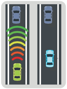 forward collision warning causes drivers to follow less closely